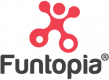 Funtopia logo vertical
